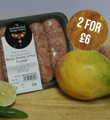 Pork and Mango Chutney (450g)