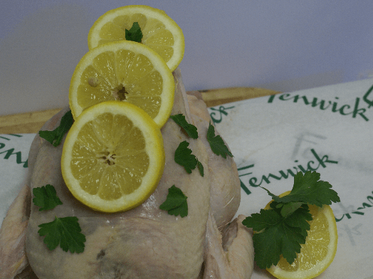 Luscious lemon and parsley Yorkshire grain fed chicken (Whole)