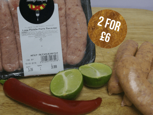 Pork and lime pickle (450g)